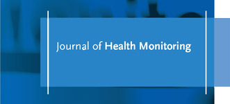 Logo des Journal of Health Monitoring